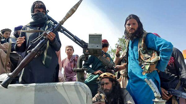 Боевики Талибана* в провинции Лагман, Афганистан - Sputnik Армения