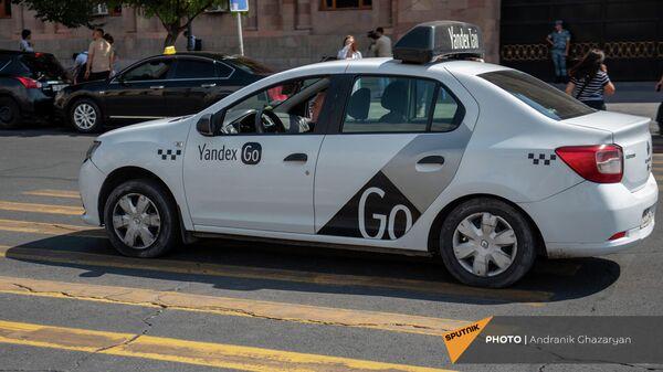 Yandex Go на площади Республики - Sputnik Արմենիա