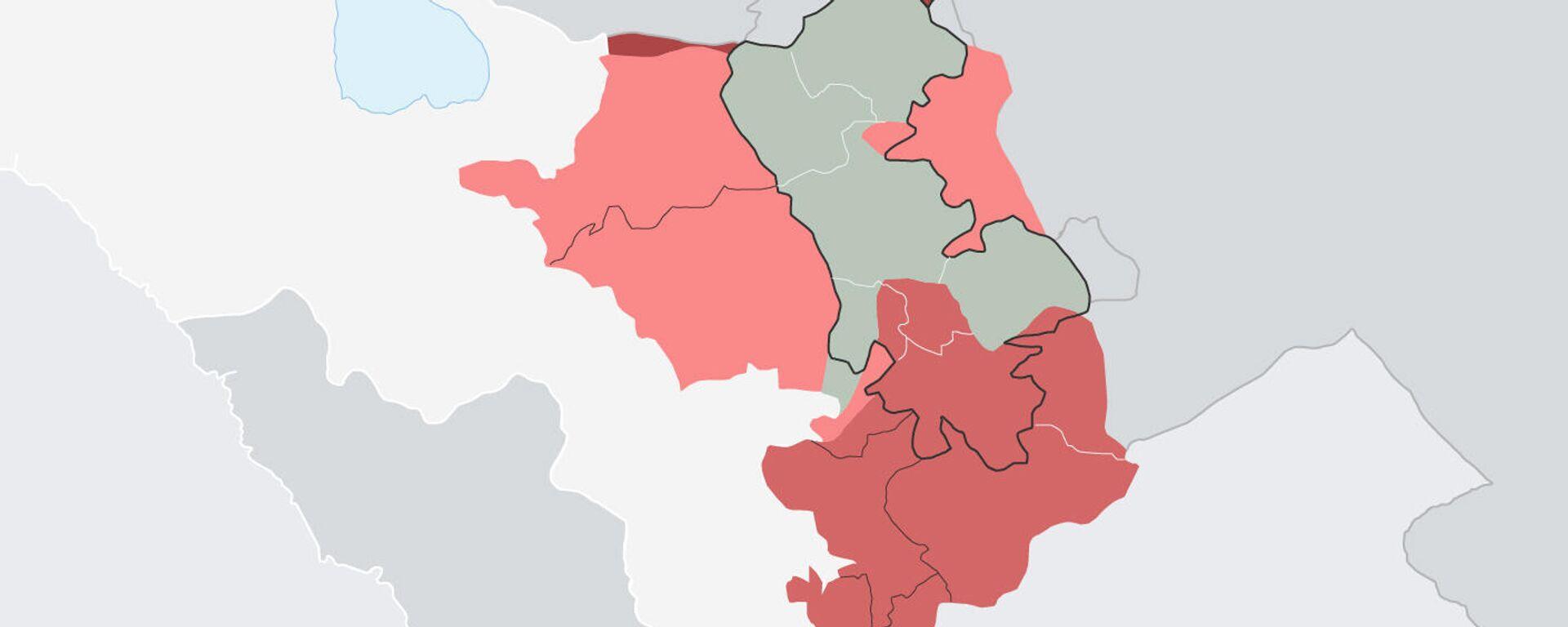 44-дневная война в Нагорном Карабахе в цифрах - Sputnik Армения, 1920, 27.09.2021