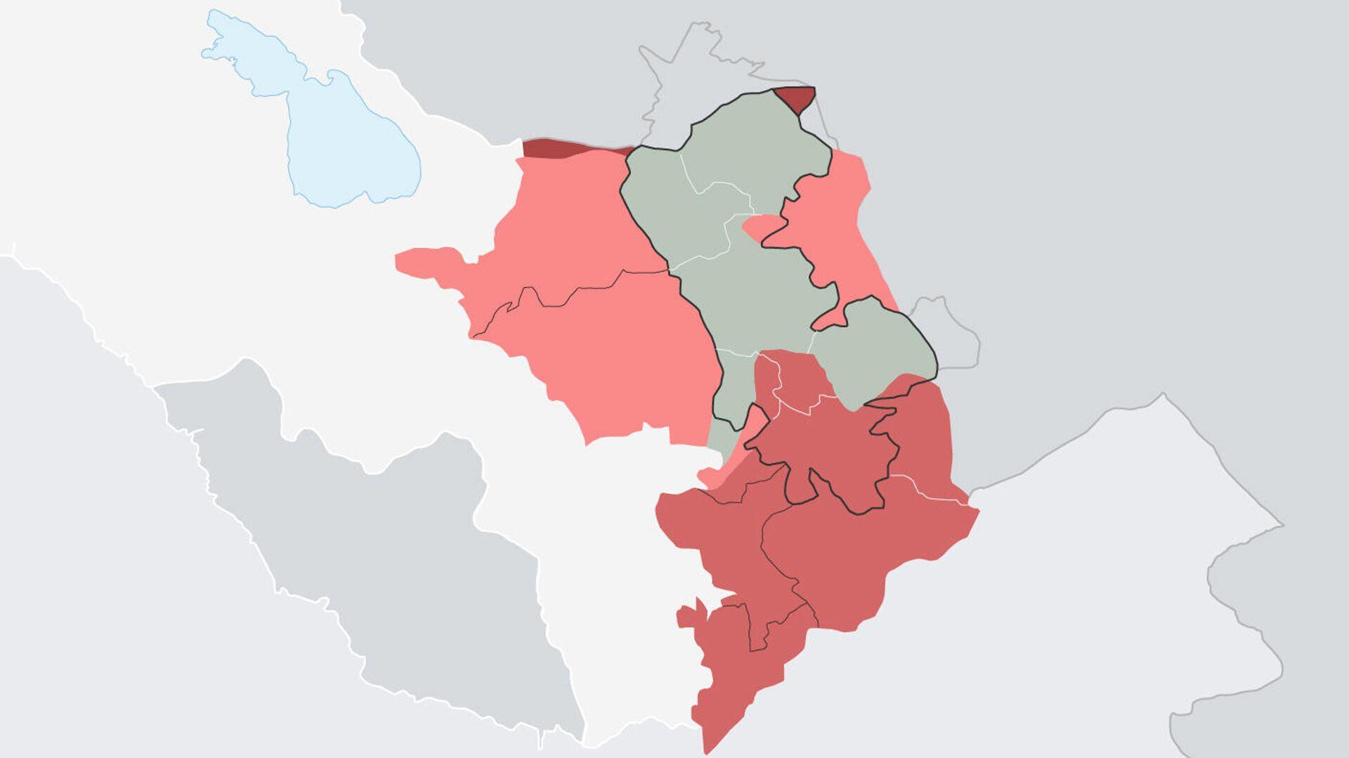 44-дневная война в Нагорном Карабахе в цифрах - Sputnik Արմենիա, 1920, 27.09.2021