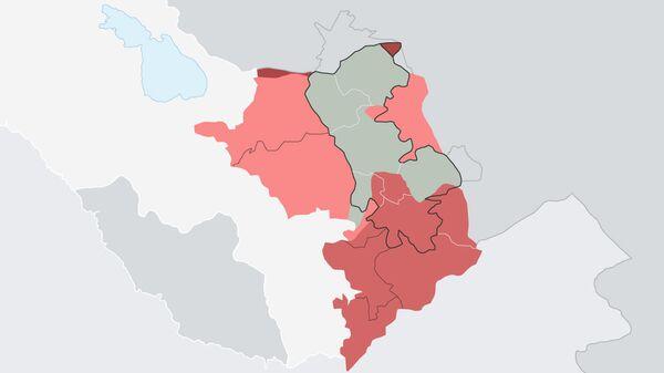 44-дневная война в Нагорном Карабахе в цифрах - Sputnik Армения