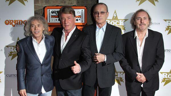 Участники рок-группы Статус-Кво на вручение наград Классический рок-н-ролл Чести (13 ноября 2012). Лондон - Sputnik Армения