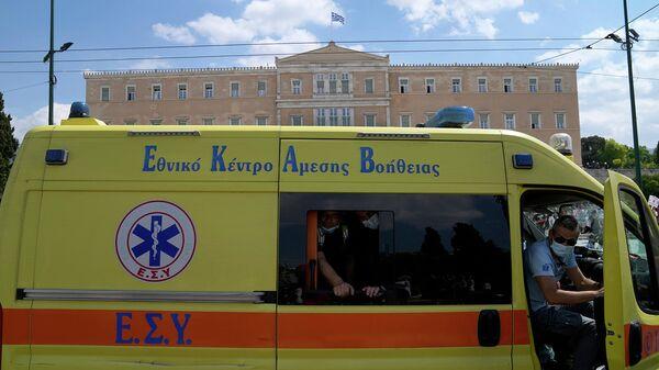 Машина скорой помощи в Греции - Sputnik Армения