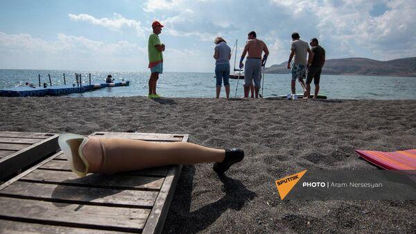Территория ОО Армянский лагерь на озере Севан - Sputnik Армения