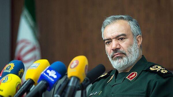 Заместитель командира Корпуса стражей исламской революции Ирана Али Сардар Фадави - Sputnik Армения
