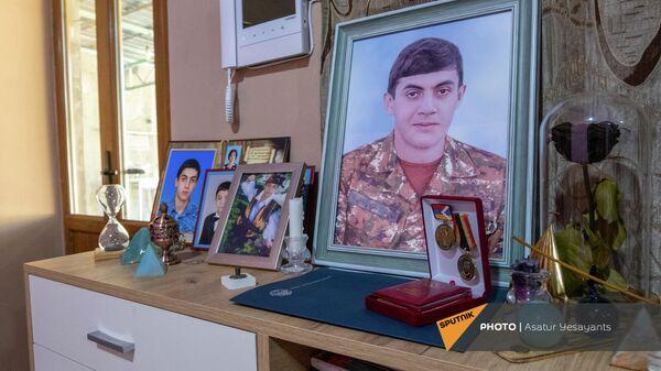 Уголок памяти Мгера Апикяна - Sputnik Армения