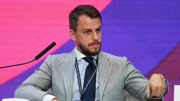 Илья Сачков на первом Московском предпринимательском форуме в ЦВЗ Манеж - Sputnik Армения
