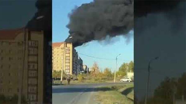 Пожар в Тюмени - Sputnik Արմենիա