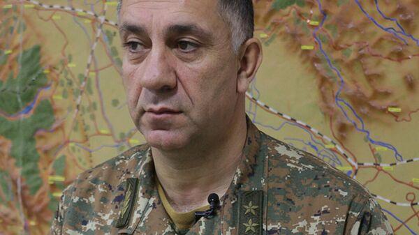 Заместитель начальника Генштаба ВС Армении Степан Галстян - Sputnik Արմենիա
