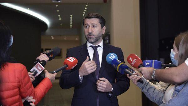 Министр юстиции Карен Андреасян на мероприятии, организованного по случаю Международного дня нотариусов Европы (2 октября 2021). Еревaн - Sputnik Արմենիա