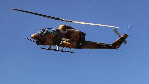 Вертолет иранской армии во время масштабных военных учений  - Sputnik Армения