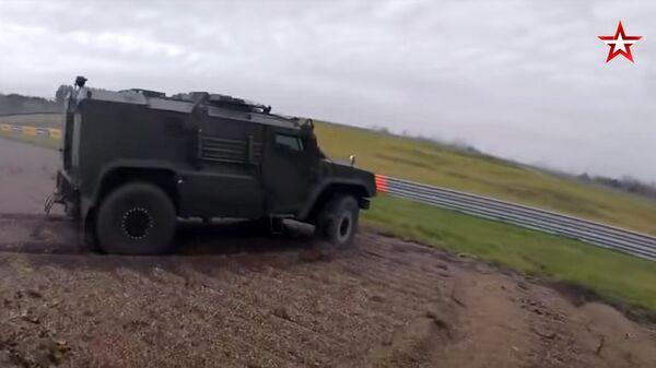 Бронеавтомобиль сопровождения Напарник - Sputnik Армения