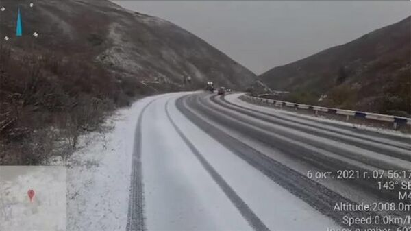 Ճանապարհային դեպարտամենտ ՊՈԱԿ-ը տեղեկացնում է, որ հոկտեմբերի 6-ին՝ ժամը 9։00-ի դրությամբ, Դիլիջանի ոլորաններում ձյուն է տեղում։ - Sputnik Արմենիա