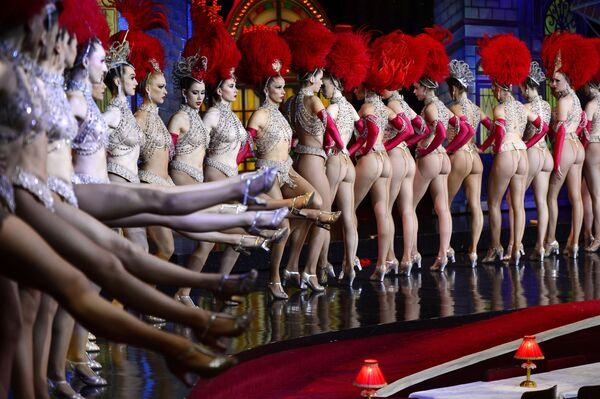 «Մուլեն Ռուժի» պարուհիները - Sputnik Արմենիա