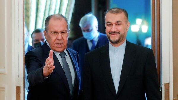 Սերգեյ Լավրովը և Հոսեյն Ամիր Աբդոլլահիանը - Sputnik Արմենիա