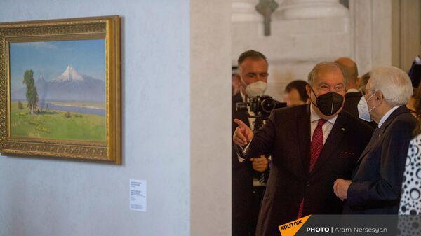 Հռոմի նախագահական պալատում կազմակերպվել է հայկական նկարների բացառիկ ցուցադրություն - Sputnik Արմենիա
