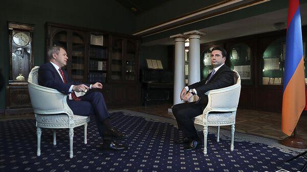 ՀՀ ԱԺ նախագահի գլխավորած պատվիրակությունը հյուրընկալվել է ՌԴ-ում Հայաստանի Հանրապետության դեսպանատանը - Sputnik Արմենիա
