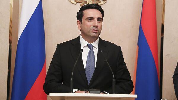 Официальный прием в посольстве Армении в России в честь официального визита делегации НС в Россию - Sputnik Армения