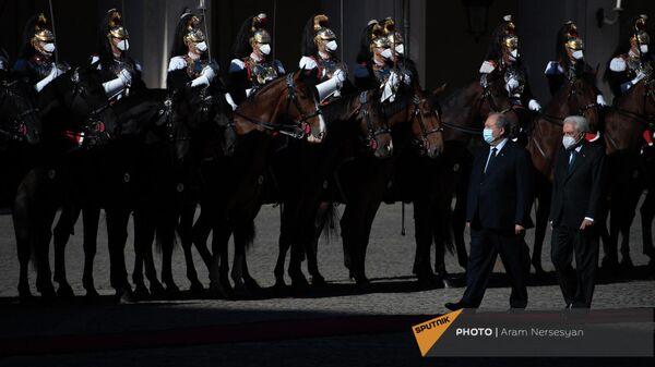 Завершился государственный визит президента Армении Армена Саркисяна в Италию - Sputnik Армения