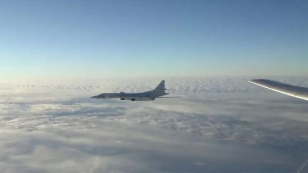 Полеты стратегических ракетоносцев Ту-160 и Ту-95МС - Sputnik Армения