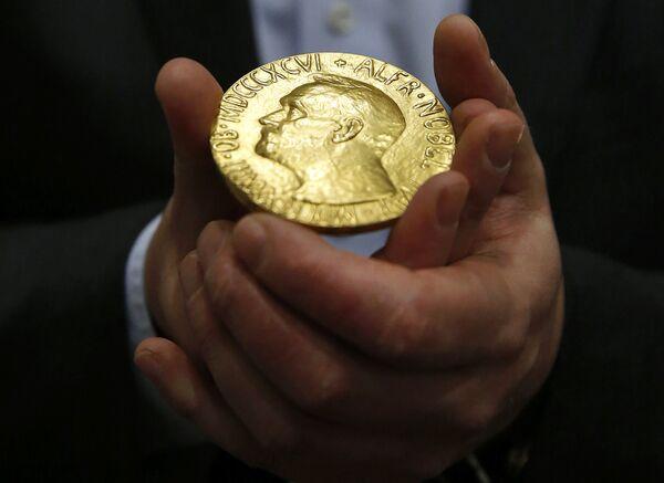 Медаль Нобелевской премии мира 1936 года  - Sputnik Армения