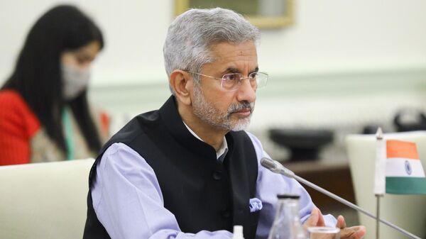 Министр иностранных дел Индии Субраманьям Джайшанкар - Sputnik Армения