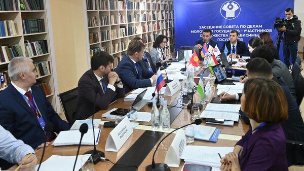 Очередное заседание Совета по делам молодежи государств-участников СНГ (11 октября 2021). Капан - Sputnik Արմենիա