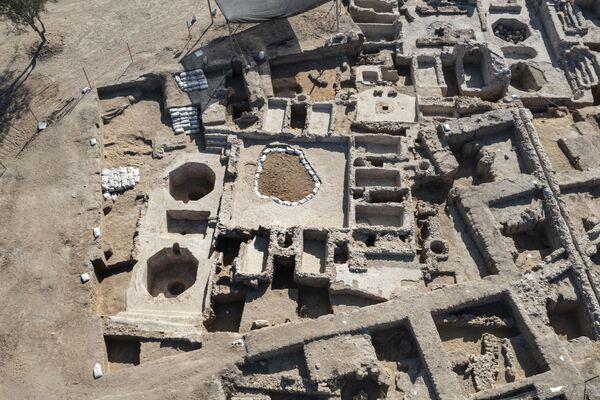 Древний винодельческий комплекс, построенный примерно 1500 лет назад в Явне, Израиль. - Sputnik Армения