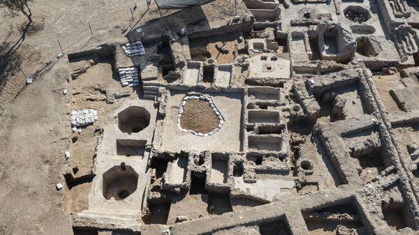 Древний винодельческий комплекс, построенный примерно 1500 лет назад в Явне, Израиль - Sputnik Армения
