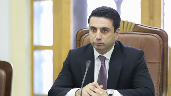 Председатель НС РА Ален Симонян принял делегацию во главе с Министром иностранных дел Индии Субраманьямом Джайшанкаром (13 октября 2021). Еревaн - Sputnik Армения