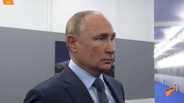 Интервью Путина CNBC о смерти доллара - Sputnik Армения