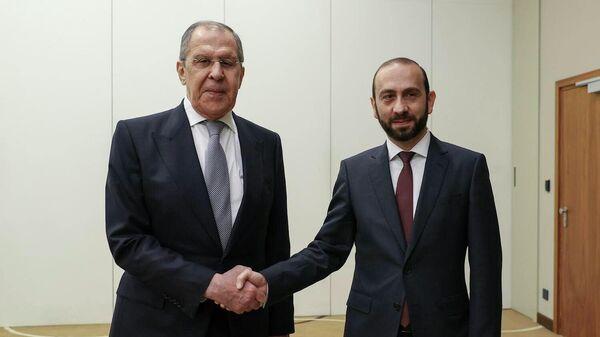 Հայաստանի և Ռուսաստանի ԱԳ նախարարների հանդիպումը - Sputnik Արմենիա