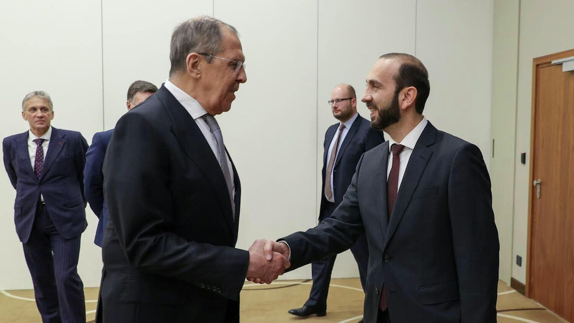 Հայաստանի և Ռուսաստանի ԱԳ նախարարների հանդիպումը - Sputnik Արմենիա, 1920, 14.10.2021