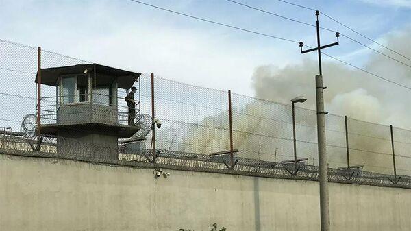 Пожар в Руставской тюрьме - Sputnik Армения