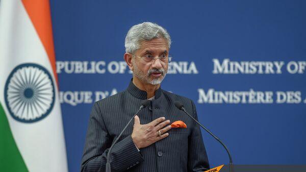 Հնդկաստանի արտաքին գործերի նախարար Սուբրամանյամ Ջայշանկար - Sputnik Արմենիա