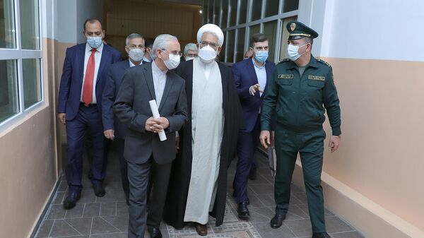 ԻԻՀ գլխավոր դատախազ Մոհամմադ Ջաֆար Մոնթազերին այցելել է ՀՀ ԱՆ «Արմավիր» քրեակատարողական հիմնարկ - Sputnik Արմենիա