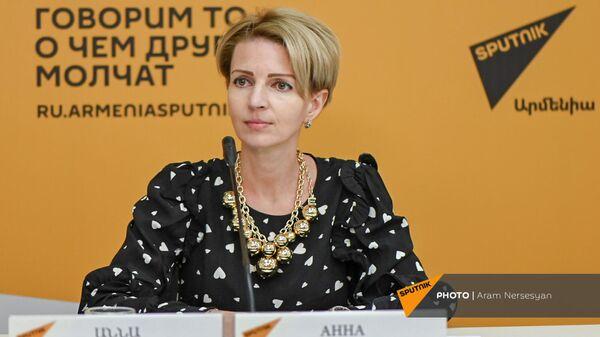 Торговый представитель России в Армении Анна Донченко - Sputnik Армения