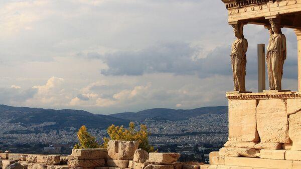 Вид на Афины из Акрополя - Sputnik Армения