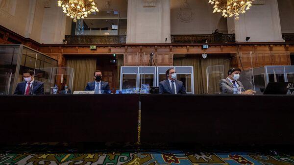 В Международном суде ООН началось слушание по вопросу о неотложных мерах по делу Азербайджан против Армении (18 октября 2021). Гаага - Sputnik Армения