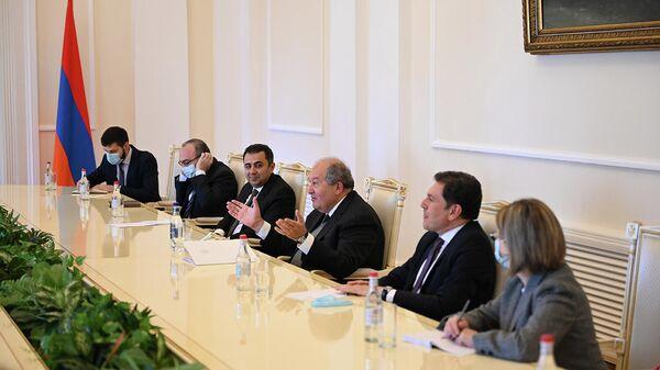 Արմեն Սարգսյանն ընդունել է ԵԽ ներկայացուցիչներին - Sputnik Արմենիա