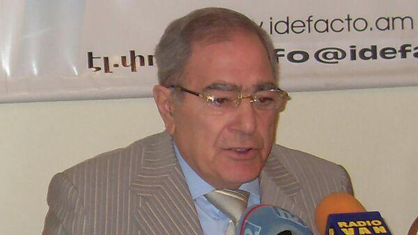 Председатель Народной партии Тигран Карапетян - Sputnik Армения