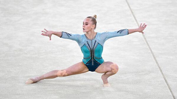 Олимпиада-2020. Спортивная гимнастика. Женщины. Вольные упражнения - Sputnik Армения