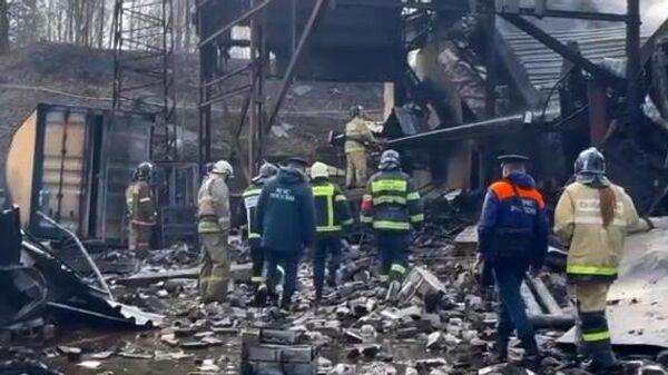 Пожар на пороховом заводе в Рязанской области - Sputnik Армения