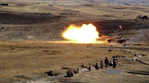 Армяно-российская Объединенная группировка провела военные учения - Sputnik Армения