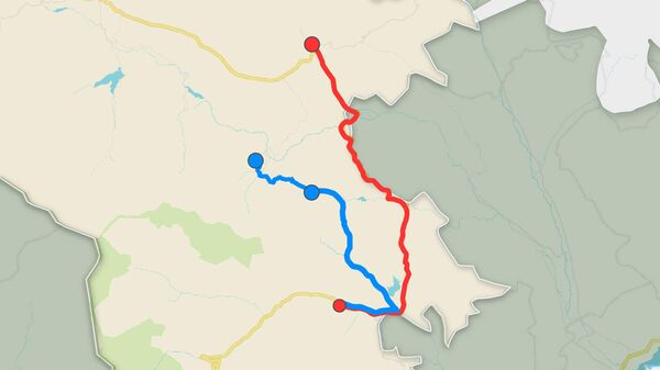 Как будет проходить альтернативная дорога в Сюнике? - Sputnik Армения