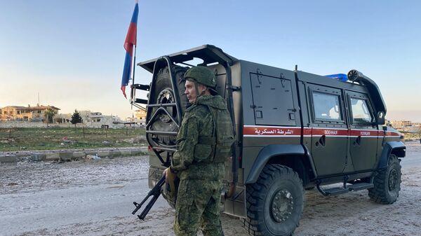 Российская военная полиция в сирийской провинции Идлиб - Sputnik Армения