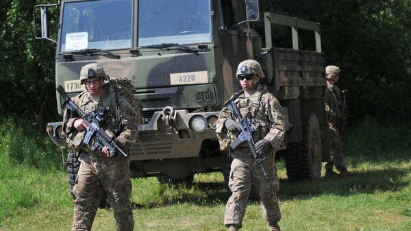 Ուկրաինա–ամերիկյան զորավարժություններ. արխիվային լուսանկար - Sputnik Արմենիա