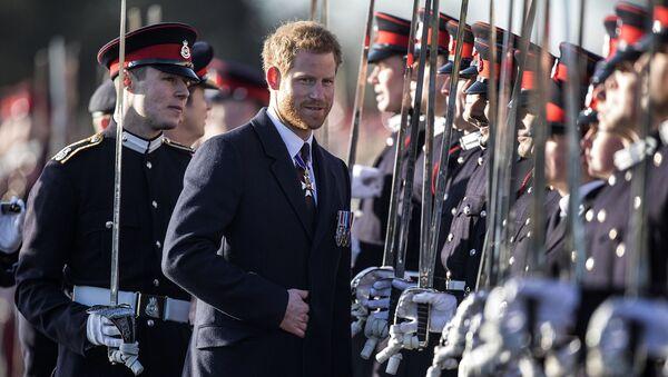 Принц Гарри на выпуске офицерских кадетов (15 декабря 2017). Лондон, Великобритания - Sputnik Армения