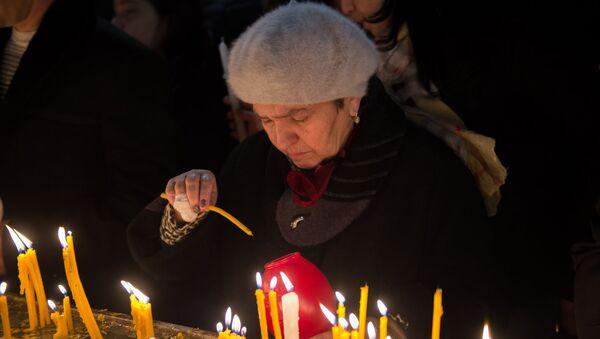 Рождественский сочельник в Ереване - Sputnik Армения