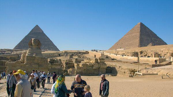 Туристы в Египте - Sputnik Արմենիա